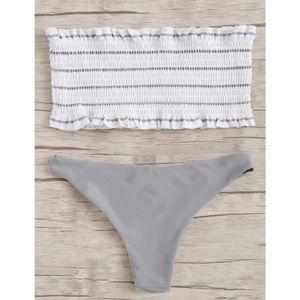 Other - ✿ NEW Ruffle Bandeau Bikini Set ✿